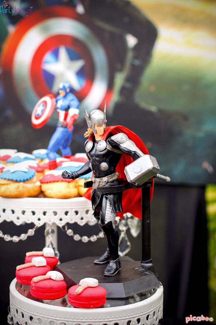 kara u0026 39 s party ideas avengers birthday party