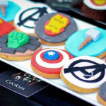 Cookies from an Avengers Themed Birthday Party via Kara's Party Ideas   KarasPartyIdeas.com (2)