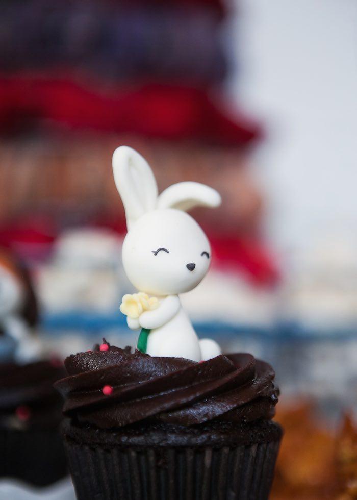 Cupcake from a Beanie Boos Pet Adoption Themed Birthday Party via Kara's Party Ideas | KarasPartyIdeas.com (43)