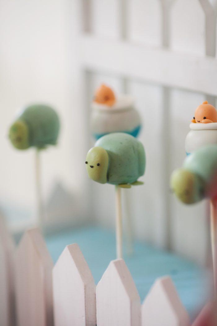 Cake pops from a Beanie Boos Pet Adoption Themed Birthday Party via Kara's Party Ideas | KarasPartyIdeas.com (36)