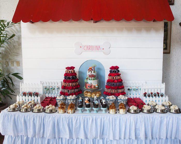 Dessert table from a Beanie Boos Pet Adoption Themed Birthday Party via Kara's Party Ideas | KarasPartyIdeas.com (53)