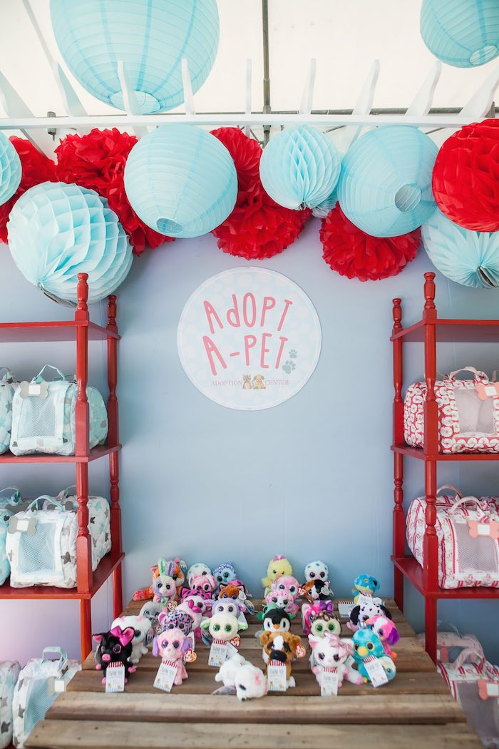 Pet Adoption Themed Birthday Party