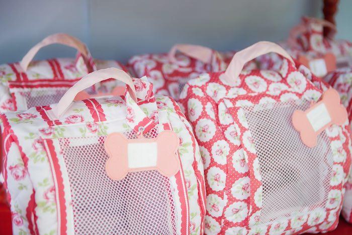 To go carrier favor bags from a Beanie Boos Pet Adoption Themed Birthday Party via Kara's Party Ideas | KarasPartyIdeas.com (26)