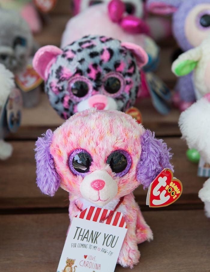 Adoptable pets from a Beanie Boos Pet Adoption Themed Birthday Party via Kara's Party Ideas | KarasPartyIdeas.com (22)
