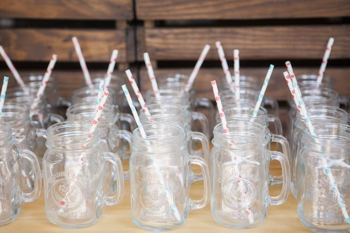 Beverage jugs from a Beanie Boos Pet Adoption Themed Birthday Party via Kara's Party Ideas | KarasPartyIdeas.com (14)