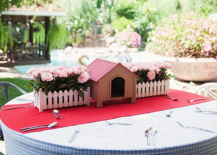 Guest table from a Beanie Boos Pet Adoption Themed Birthday Party via Kara's Party Ideas | KarasPartyIdeas.com (8)