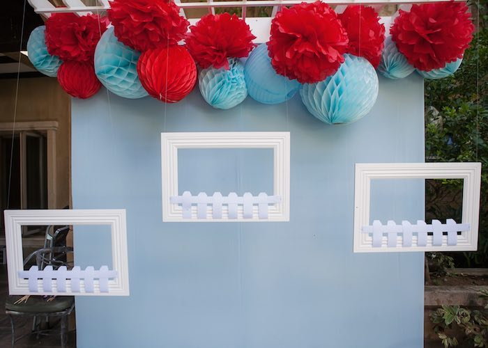 Photo booth from a Beanie Boos Pet Adoption Themed Birthday Party via Kara's Party Ideas | KarasPartyIdeas.com (7)