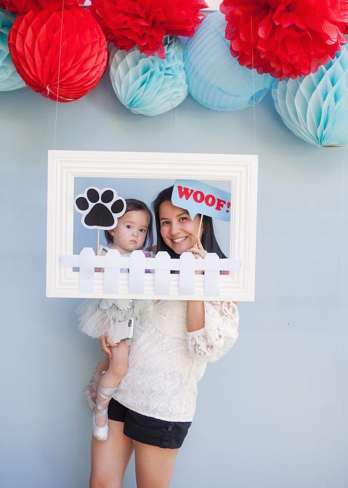 Photo booth fun from a Beanie Boos Pet Adoption Themed Birthday Party via Kara's Party Ideas | KarasPartyIdeas.com (6)