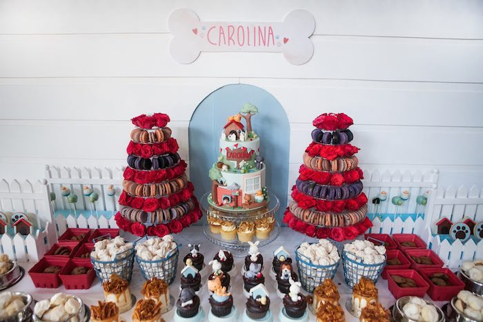 Dessert table details from a Beanie Boos Pet Adoption Themed Birthday Party via Kara's Party Ideas | KarasPartyIdeas.com (50)