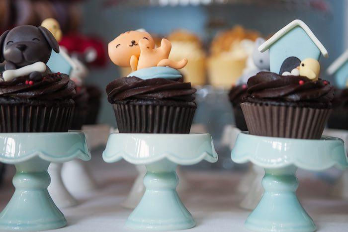 Cupcakes from a Beanie Boos Pet Adoption Themed Birthday Party via Kara's Party Ideas | KarasPartyIdeas.com (46)