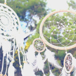 Beautiful dreamcatcher bunting from a Bohemian Tween Birthday Party via Kara's Party Ideas | KarasPartyIdeas.com (2)