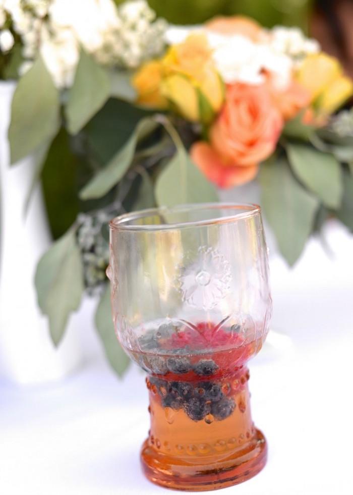 Drink glass from a Boho Dreams Baby Shower Brunch via Kara's Party Ideas - KarasPartyIdeas.com (8)