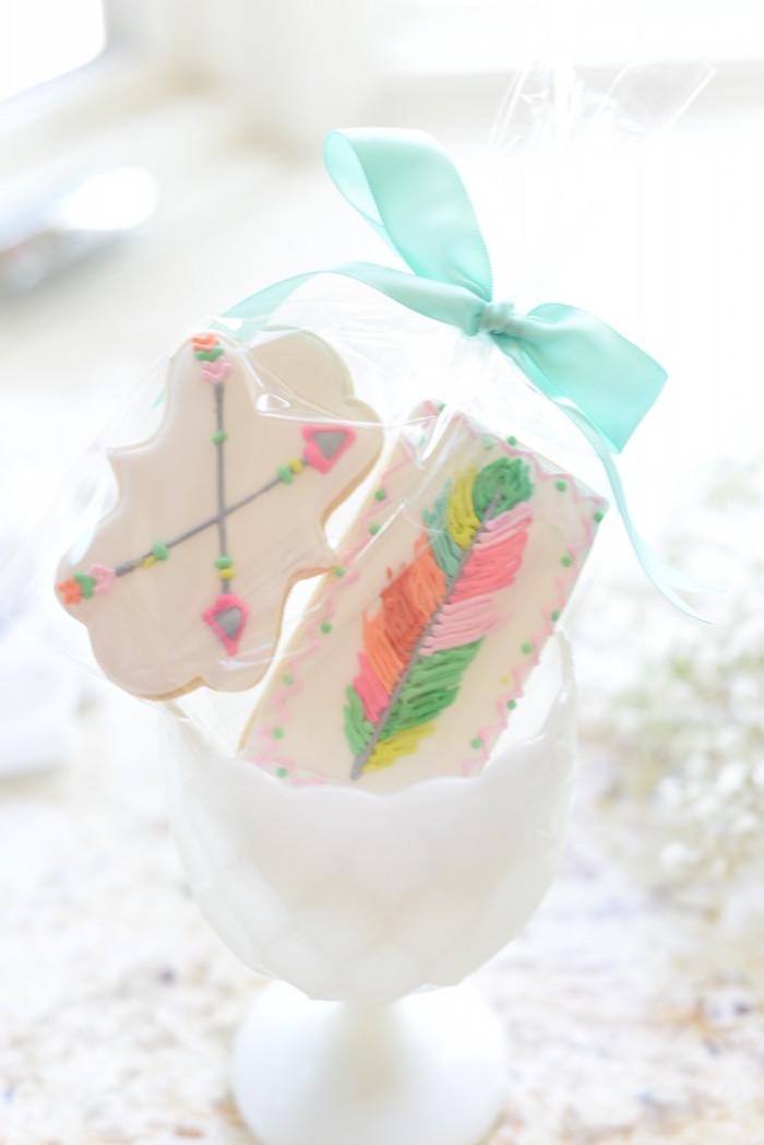 Cookies from a Boho Dreams Baby Shower Brunch via Kara's Party Ideas - KarasPartyIdeas.com (6)