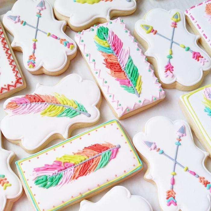 Cookies from a Boho Dreams Baby Shower Brunch via Kara's Party Ideas - KarasPartyIdeas.com (3)
