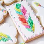 Cookies from a Boho Dreams Baby Shower Brunch via Kara's Party Ideas - KarasPartyIdeas.com (1)