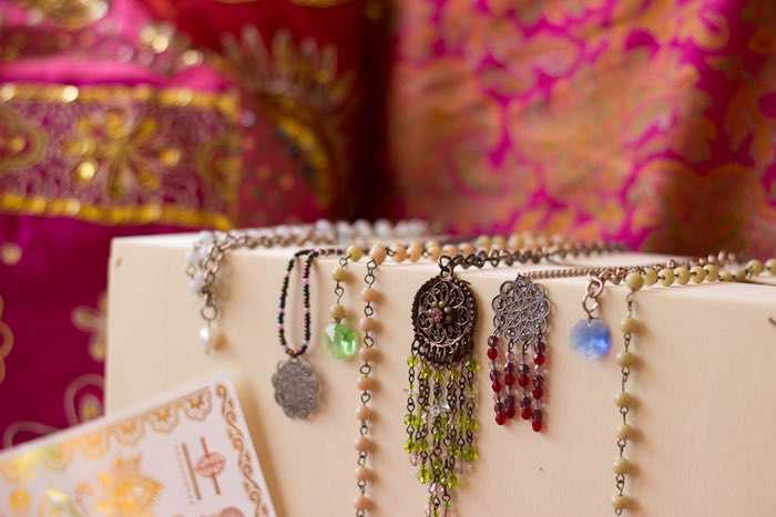 Accessories from a Bollywood Inspired Birthday Party via Kara's Party Ideas | KarasPartyIdeas.com (18)