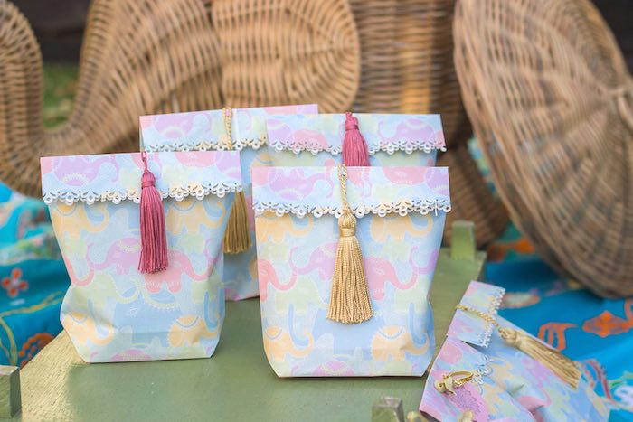DIY Gift Bags from a Bollywood Inspired Birthday Party via Kara's Party Ideas | KarasPartyIdeas.com (13)