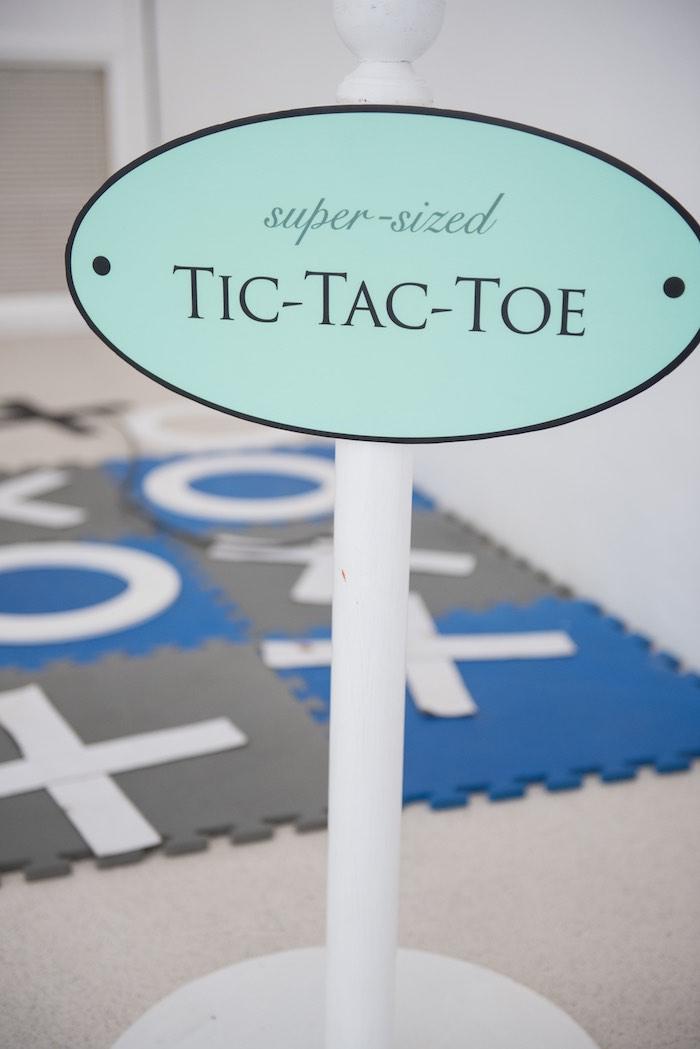 Tic-Tac-Toe Game from a Breakfast at Tiffany's Inspired Birthday Party via Kara's Party Ideas | KarasPartyIdeas.com (15)