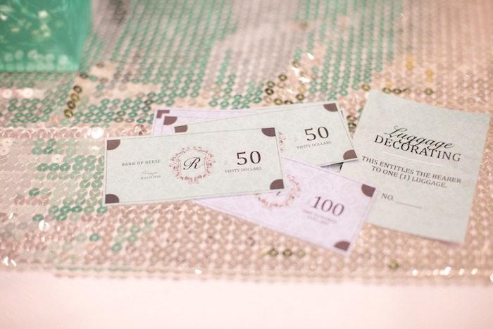 Tiffany's-inspired Money from a Breakfast at Tiffany's Inspired Birthday Party via Kara's Party Ideas | KarasPartyIdeas.com (5)