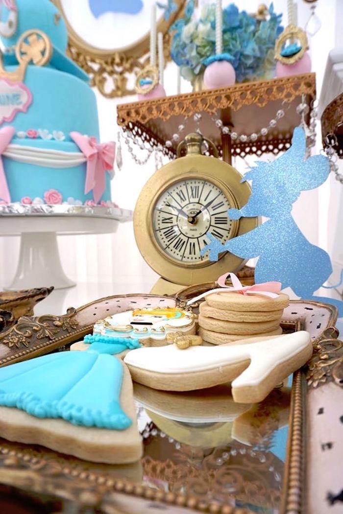 Cookie display from a Cinderella Birthday Party via Kara's Party Ideas | KarasPartyIdeas.com (11)