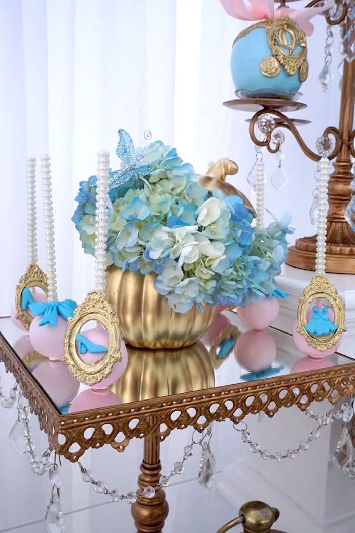 Cake pops from a Cinderella Birthday Party via Kara's Party Ideas | KarasPartyIdeas.com (6)