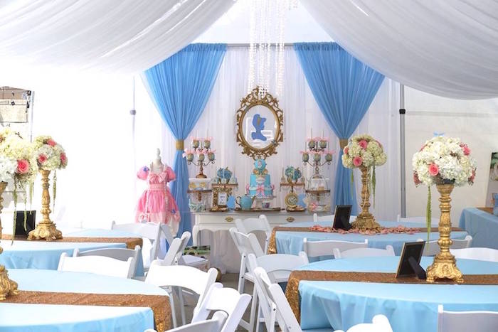 Cinderella Birthday Party via Kara's Party Ideas | KarasPartyIdeas.com (15)