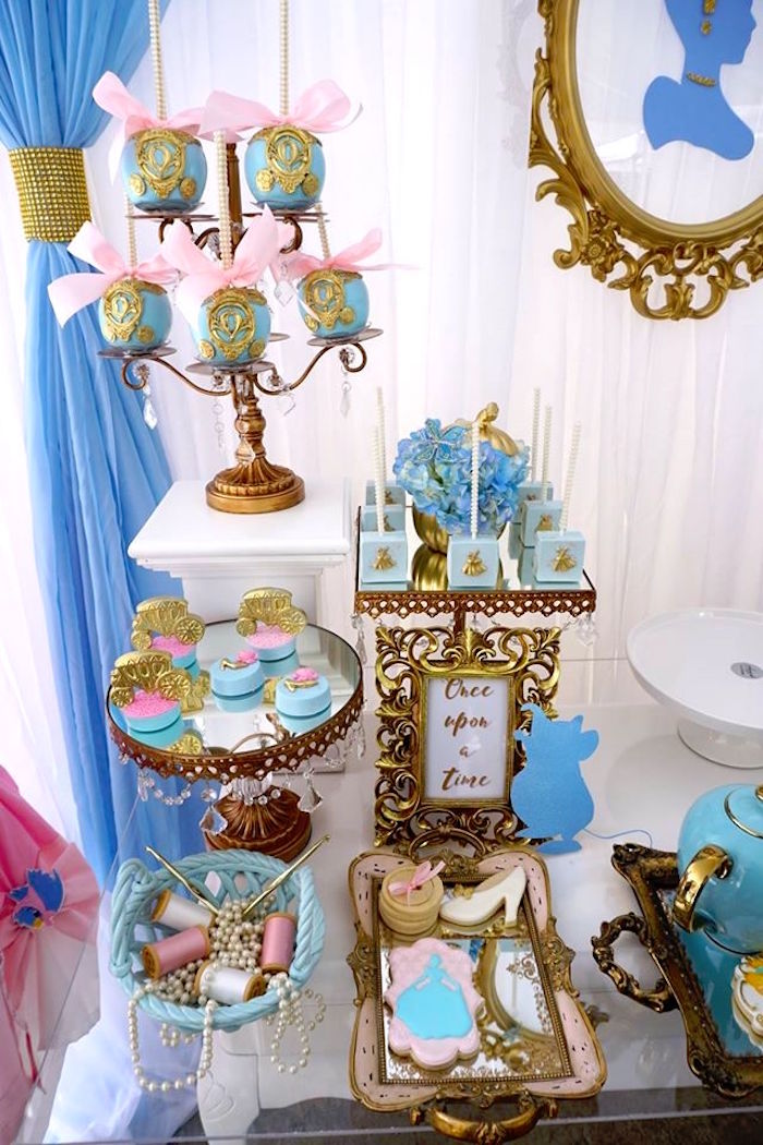 Kara's Party Ideas Fairy Godmother Cinderella Birthday
