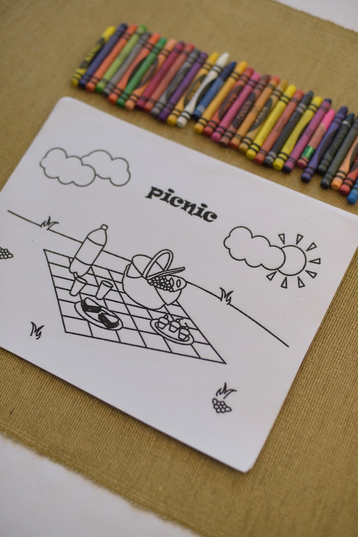 Coloring activity from a Citrus Harvest Birthday Party via Kara's Party Ideas! KarasPartyIdeas.com (30)