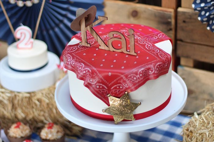 Cake from a Cowboy Western Birthday Party via Kara's Party Ideas | KarasPartyIdeas.com (24)