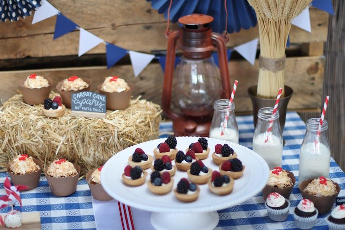 Sweet table details from a Cowboy Western Birthday Party via Kara's Party Ideas | KarasPartyIdeas.com (23)