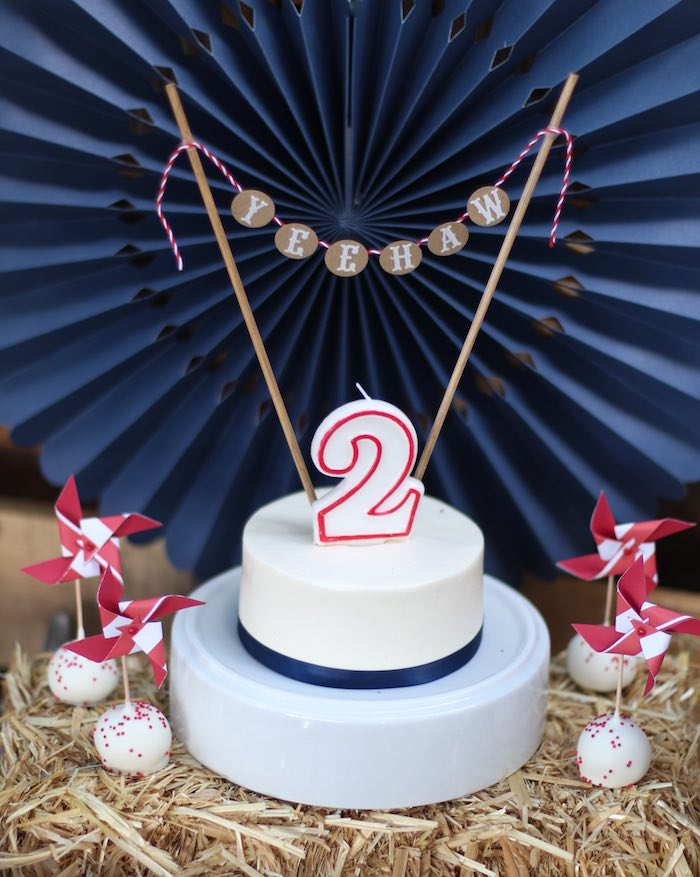 Cake from a Cowboy Western Birthday Party via Kara's Party Ideas | KarasPartyIdeas.com (33)