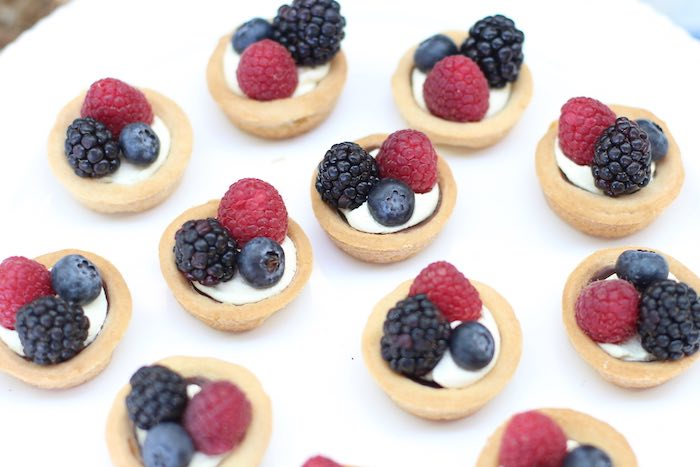 Fruit tarts from a Cowboy Western Birthday Party via Kara's Party Ideas | KarasPartyIdeas.com (2)