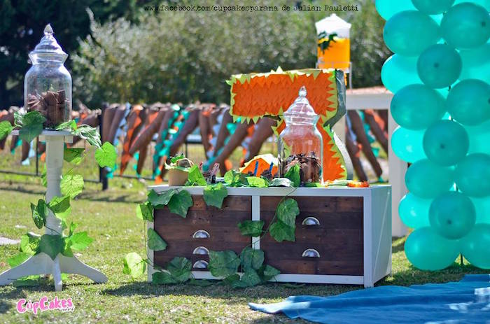 Details from a Dinosaur Birthday Party via Kara's Party Ideas | KarasPartyIdeas.com (16)