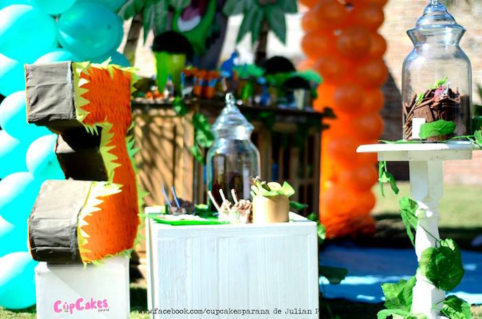 Details from a Dinosaur Birthday Party via Kara's Party Ideas | KarasPartyIdeas.com (35)