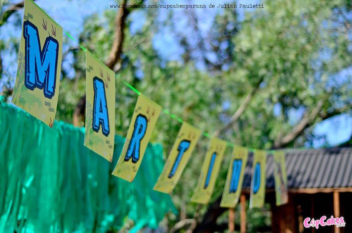 Banner from a Dinosaur Birthday Party via Kara's Party Ideas | KarasPartyIdeas.com (6)