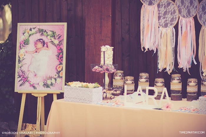 Sweet details from a Dream Catcher Baby Shower via Kara's Party Ideas | KarasPartyIdeas.com (21)