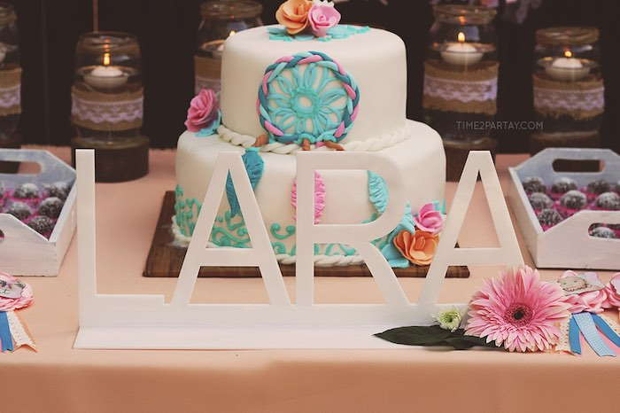 Kara's Party Ideas Dream Catching Baby Shower Kara's Party Ideas Stunning Dream Catcher Baby Shower Cake
