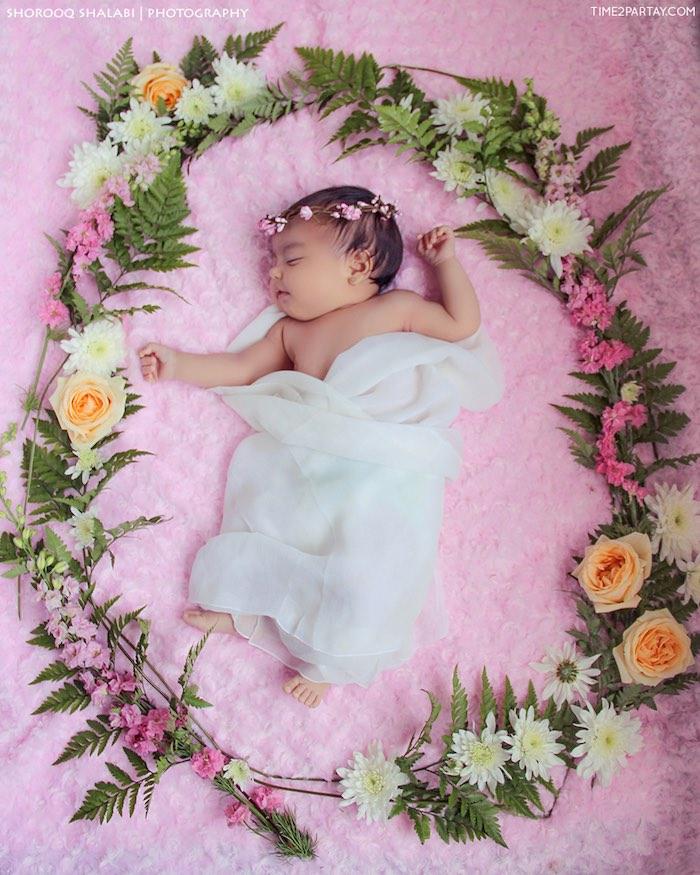Baby from a Dream Catcher Baby Shower via Kara's Party Ideas | KarasPartyIdeas.com (41)