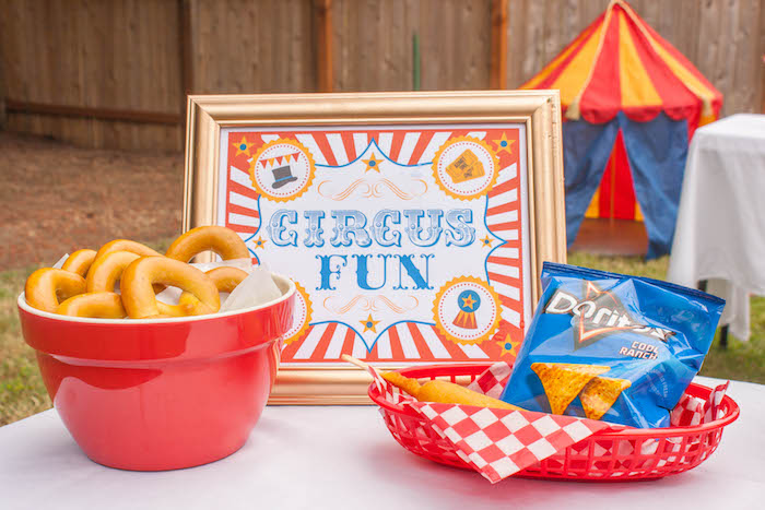 Food from a Dumbo Circus Birthday Bash via Kara's Party Ideas | KarasPartyIdeas.com (8)