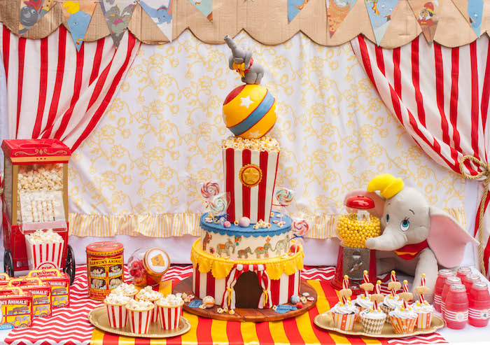 Dumbo Cake Ideas
