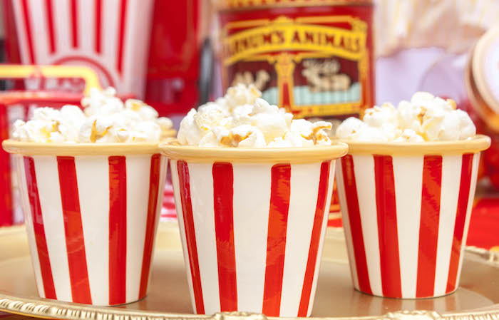 Popcorn from a Dumbo Circus Birthday Bash via Kara's Party Ideas | KarasPartyIdeas.com (13)