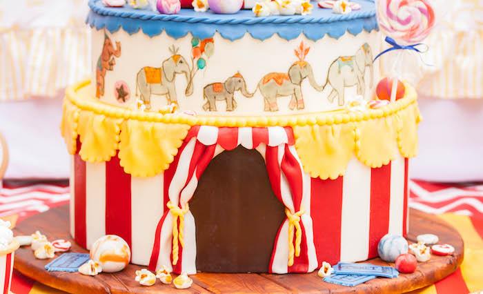 Kara S Party Ideas Dumbo Circus Birthday Bash Kara S