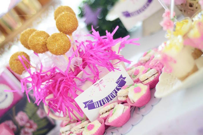 Sweets from an Enchanted Garden 1st Birthday Party via Kara's Party Ideas | KarasPartyIdeas.com - The Place for all Things Party! (20)