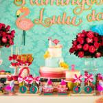 Floral Flamingo Party via Kara's Party Ideas | KarasPartyIdeas.com (2)
