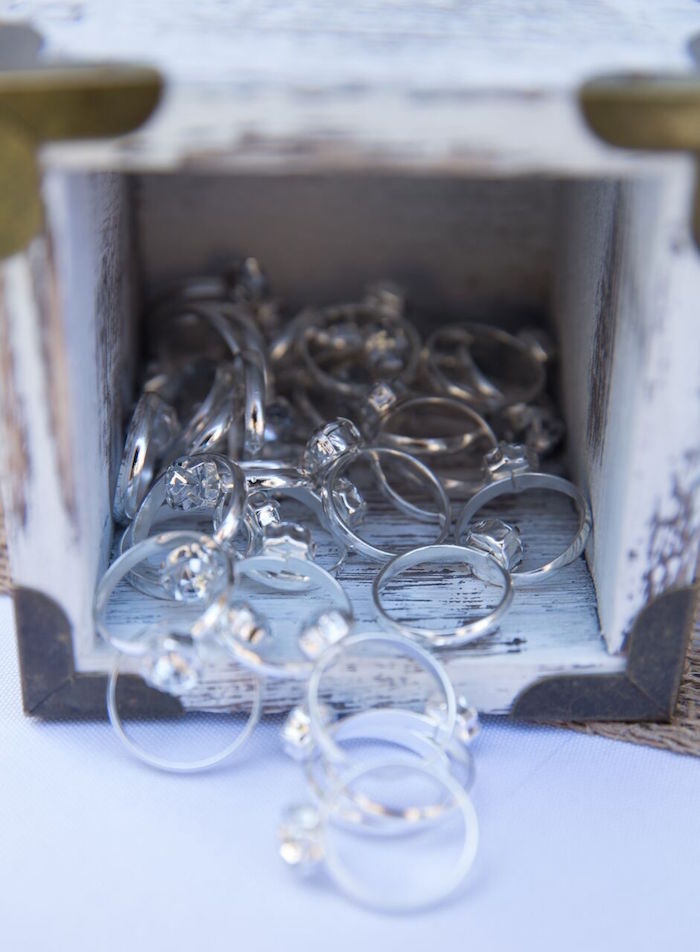 Rings from a French Country Bohemian Bridal Shower via Kara's Party Ideas | KarasPartyIdeas.com (21)