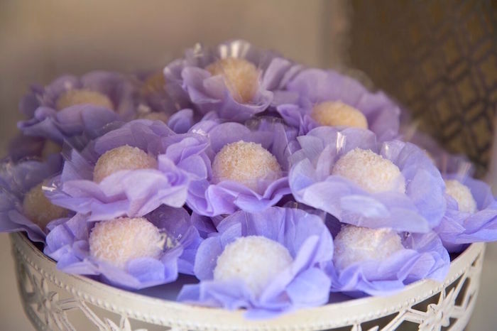 Truffles from a French Country Bohemian Bridal Shower via Kara's Party Ideas | KarasPartyIdeas.com (30)