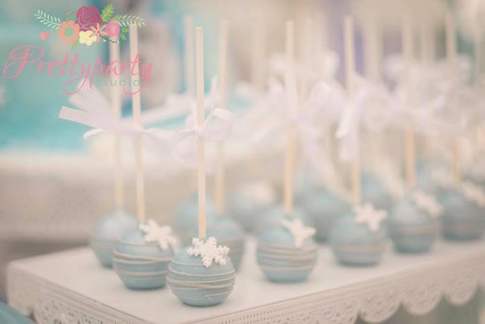 Cake pops from a Frozen Birthday Party via Kara's Party Ideas KarasPartyIdeas.com (21)
