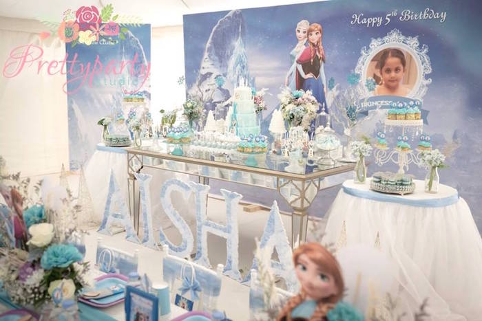 Frozen Birthday Party via Kara's Party Ideas KarasPartyIdeas.com (37)