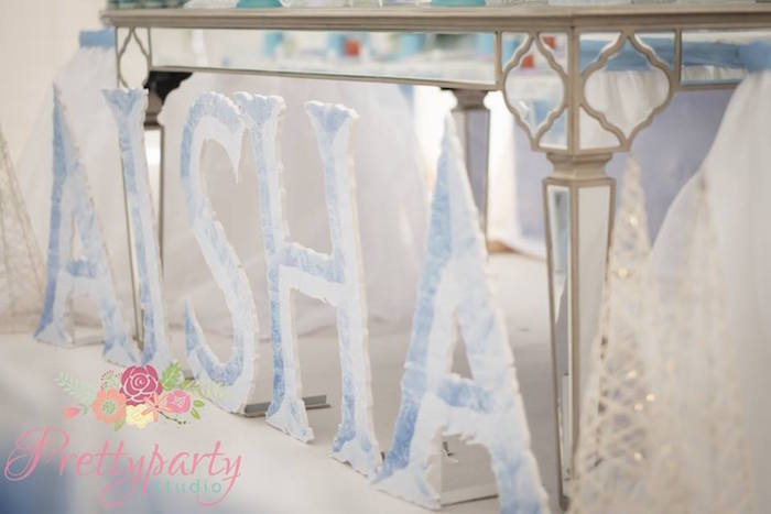 Ice Letters from a Frozen Birthday Party via Kara's Party Ideas KarasPartyIdeas.com (31)