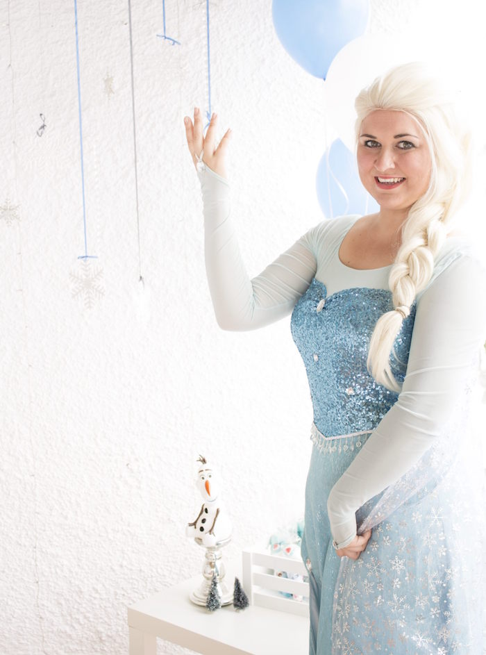 Elsa from a Frozen Birthday Tea Party via Kara's Party Ideas KarasPartyIdeas.com (5)